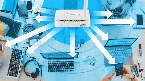 Mały, ale zaradny – test routera Lanberg RO-030FE