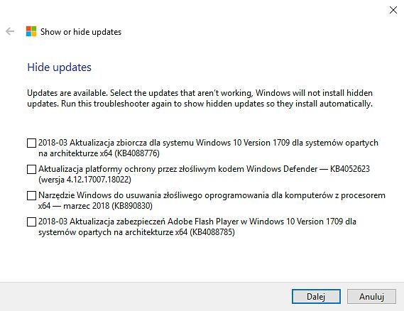 Przydatne narzędzie Microsoftu do poskramiania złych paczek KB