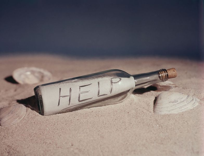 Znalazł list w butelce w Zatoce Fińskiej. Napisany był przez... Polki