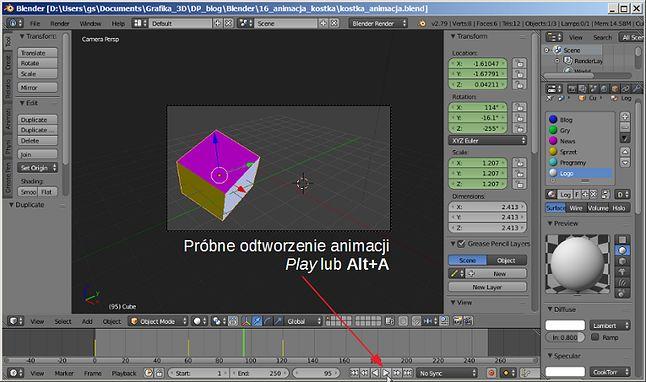 Próba animacji Play (Alt+A)