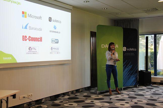 Prezentacje podczas Hack & Security w Gdańsku, fot. DAGMA