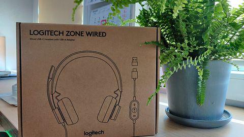 Logitech Zone Wired - fenomenalne słuchawki do pracy w domu i firmie