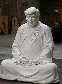 Uczyń swój biznes wielkim... z porcelanowym Donaldem Trumpem!