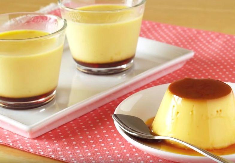 """Pudding, który """"wyskakuje"""" ze szklanki. Przepis na japoński purin"""