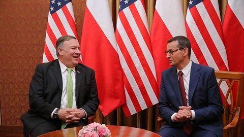 5G w Polsce jednym z tematów rozmowy premiera Morawieckiego z Mikiem Pompeo