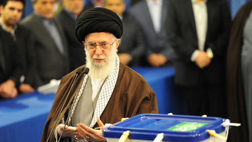Przywódca Iranu Ali Chamenei.
