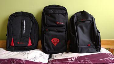 Trzy modele plecaków Genesis Pallad w natarciu. Świetna jakość wykonania i przystępna cena, kuszą! - od lewej : Pallad 100, 300 i 400
