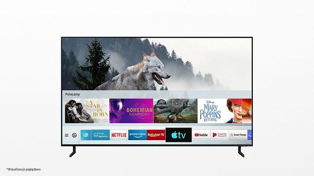Apple TV w Smart TV Samsunga, fot. materiały prasowe.