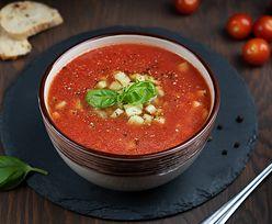 Chłodnik z pomidorów. Najlepszy pomysł na letni obiad