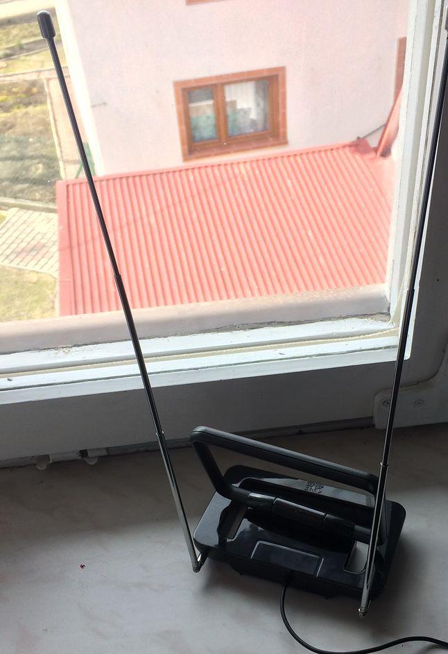 Pokojowa antena również daje radę na oddalony o 40 km nadajnik