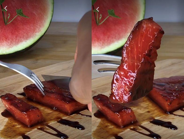 Tak się robi stek z arbuza. Przepis na wyśmienitą, letnią przekąskę