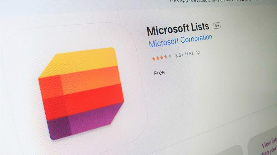 Microsoft Lists jest już dostępny dla użytkowników iOS-a, fot. Oskar Ziomek