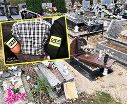 Przez lata niszczył i okradał grób córki sąsiada. Zdębieli, gdy usłyszeli powód