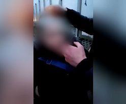 Bulwersujące nagranie. Założyli koledze prezerwatywę na głowę i chcieli ją podpalić