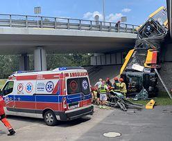 Wypadek autobusu w Warszawie. Świadek opowiada o wypadku na moście i pomocy poszkodowanym