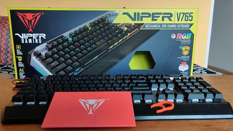 Patriot Viper V765 - wytrzymała klawiatura mechaniczna na przełącznikach Kailh Red