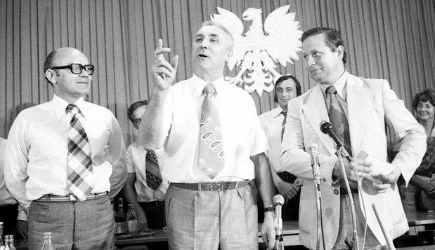 Towarzysz Edward Gierek I sekretarz KC PZPR 1970-1980
