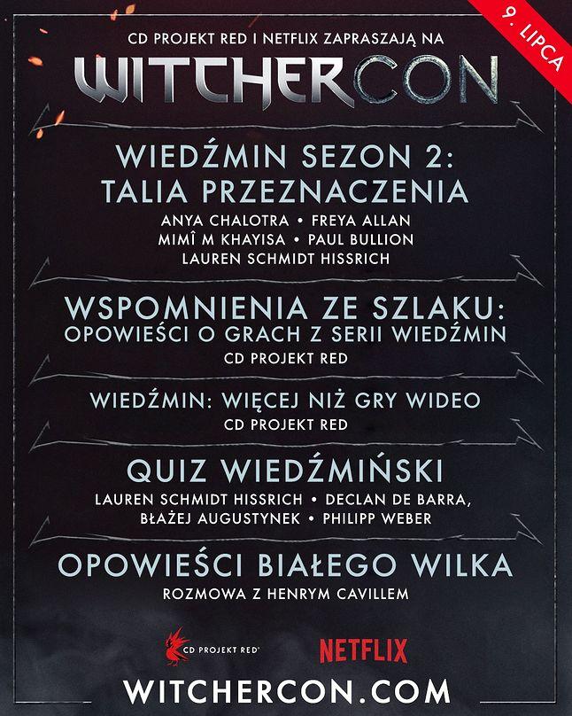 WitcherCon. Plan wydarzenia