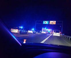 Karambol na A4. Autostrada pod Wrocławiem zablokowana
