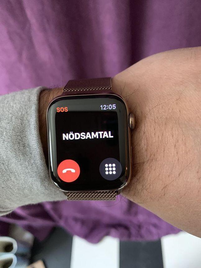 Apple Watch 4, źródło: aftonbladet.se