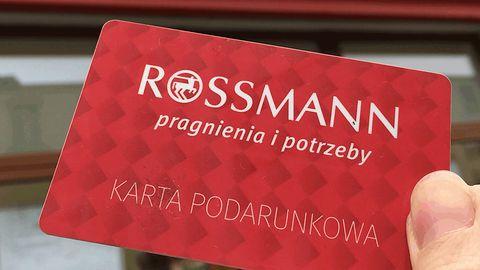 Bon do Rossmanna na 250 złotych powraca. Uważajcie – strona wyłudza dane