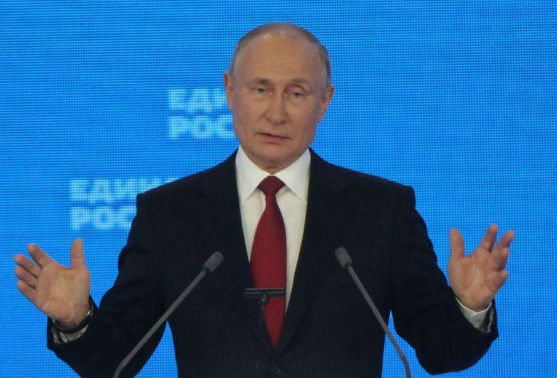 """Pogróżki z Moskwy. Putin grozi atakiem """"nie do uniknięcia"""""""
