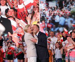 Wyniki wyborów 2020. Andrzej Duda otrzymał gorący pocałunek. Komentarz pierwszej damy
