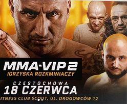 """MMA-VIP. """"Król Syntolu"""" zatrzymany przez CBŚ. Zmiany w karcie walk"""