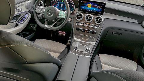Mercedes GLC 300e Coupe: System zarządzania energią, asystent podróży i audio Burmester