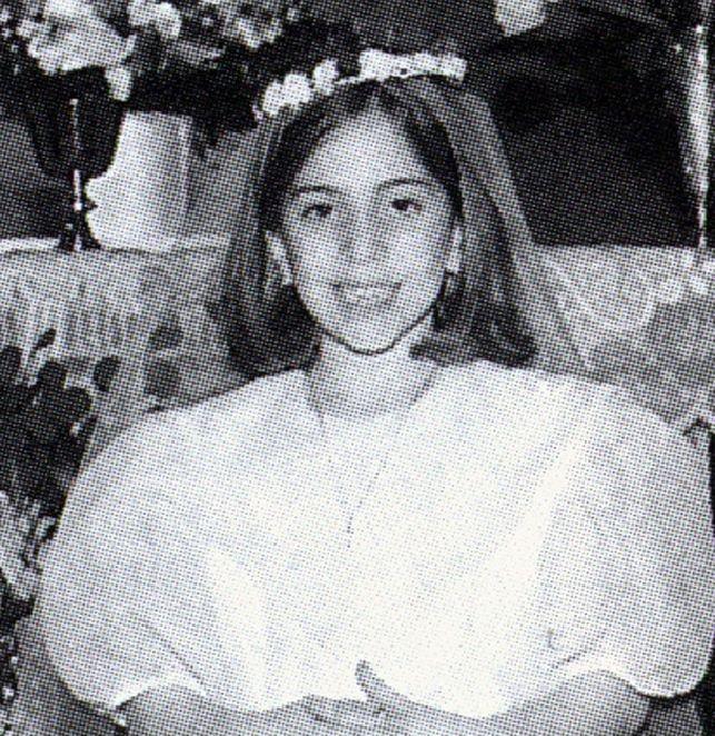 Tak w dniu pierwszej komunii świętej wyglądała Lady Gaga