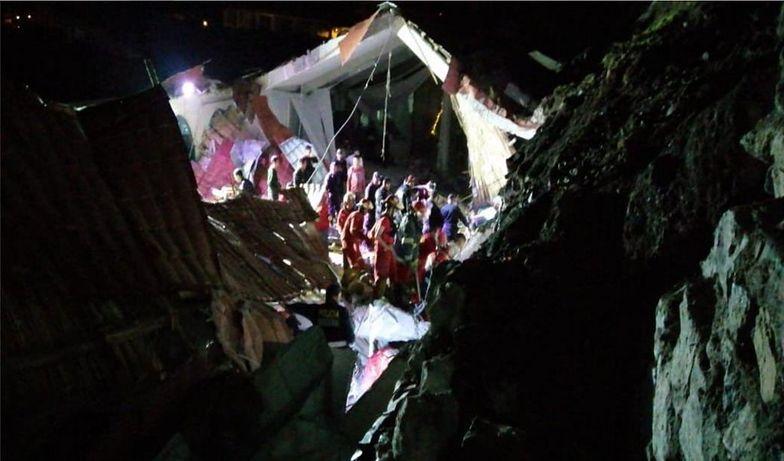 Podczas wesela zawalił się dach. Nie żyje co najmniej 15 osób