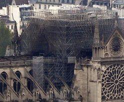 Pożar Notre Dame. Ocalałe dzieła sztuki trafią do Luwru