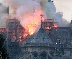 Notre Dame. Światowi przywódcy o pożarze w Paryżu
