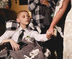 12-latek chory na raka marzył, by odprowadzić matkę do ołtarza. Jego historia wzrusza do łez