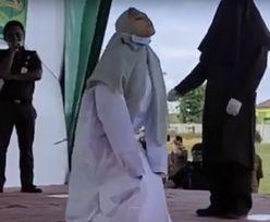 Kobieta dopuściła się seksu przed ślubem. Szokujące sceny w Indonezji