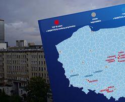 """""""Enklawy bogactwa"""" w Polsce. Tam mieszkają najzamożniejsi [MAPA]"""
