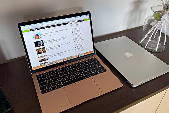 Nowy MacBook Air wraz z poprzednią generacją.
