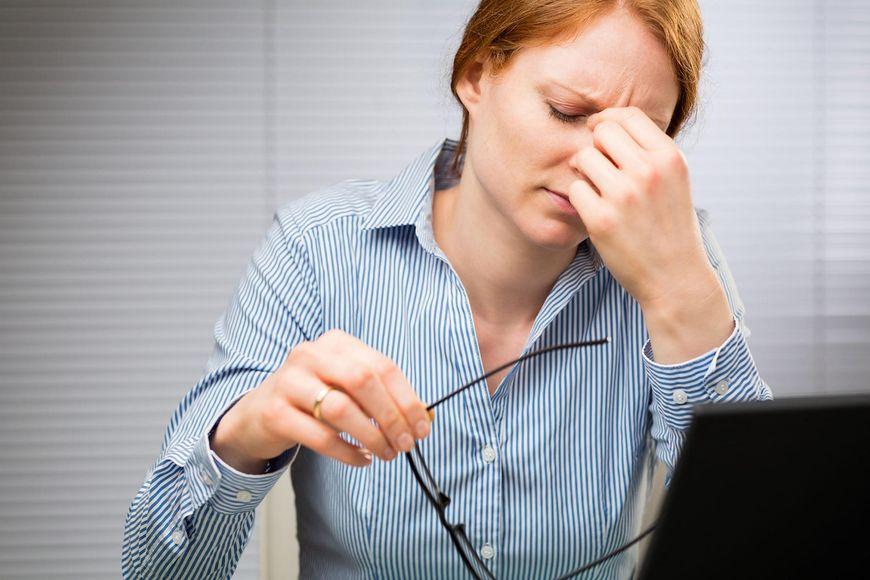 Zmęczenie może być jednym ze skutków zakwaszenia organizmu