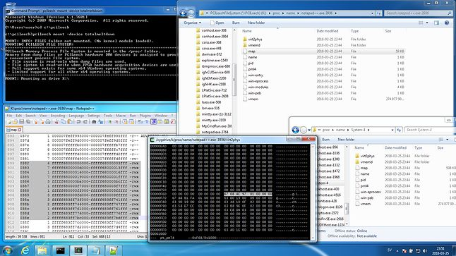 Pełny dostęp do pamięci dla każdego procesu w Windows 7