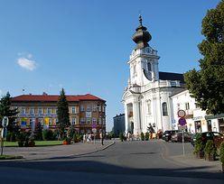 Wadowice. Podczas remontu ulicy Lwowskiej doszło do wypadku