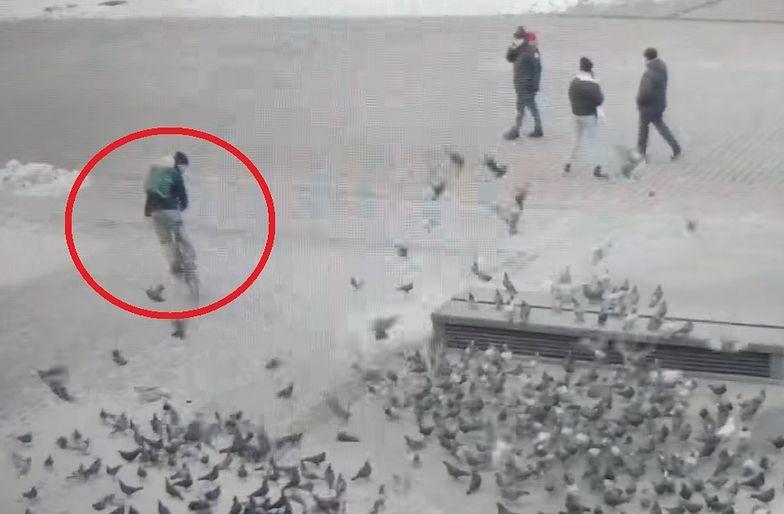 Wierzyć się nie chce! Bulwersujące nagranie z Rynku w Krakowie