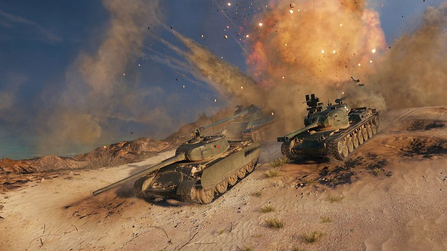 World of Tanks trafia na Steama