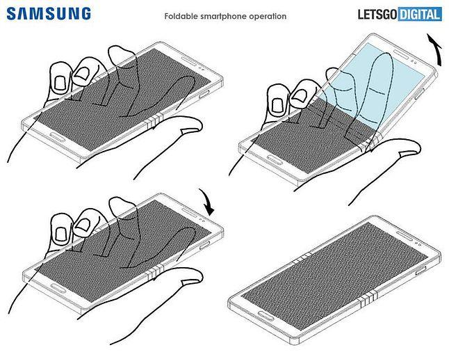 Jedna z nielicznych grafik przedstawiająca niegdyś domniemany model Galaxy X, źródło: letsgodigital.org.