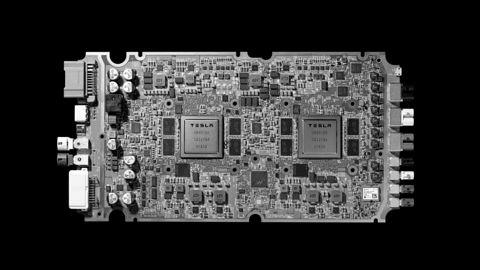 FSD. Tesla kończy współpracę z Nvidią i prezentuje autorski czip