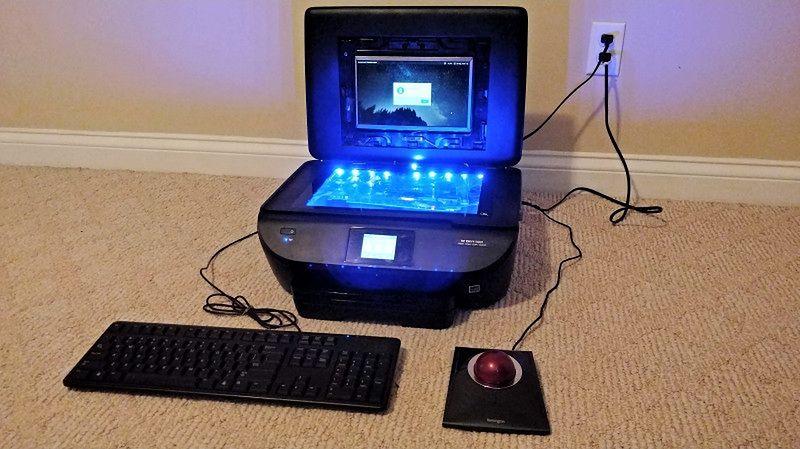 Comprinter II (foto: hackaday)