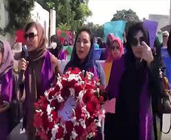 Kobiety protestowały w stolicy. Talibowie użyli podstępu