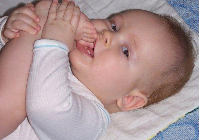 Ból w trakcie ząbkowania