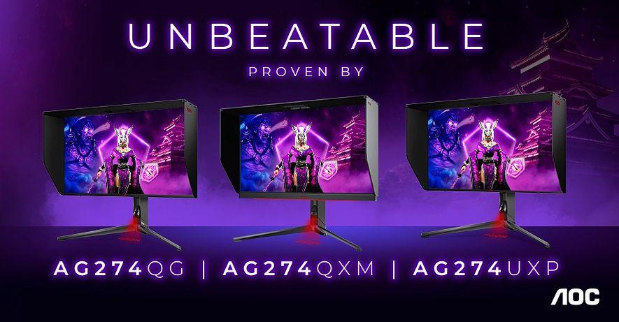 Gamingowe monitory od AOC. Znamy ceny oraz dostępność - Nowe monitory od AOC