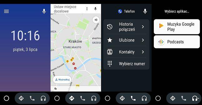 Android Auto, fot. Oskar Ziomek.