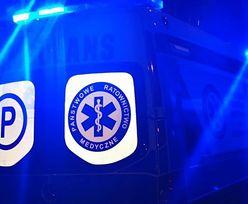 Koszmarny wypadek w Chorzowie. Cztery osoby trafiły do szpitala